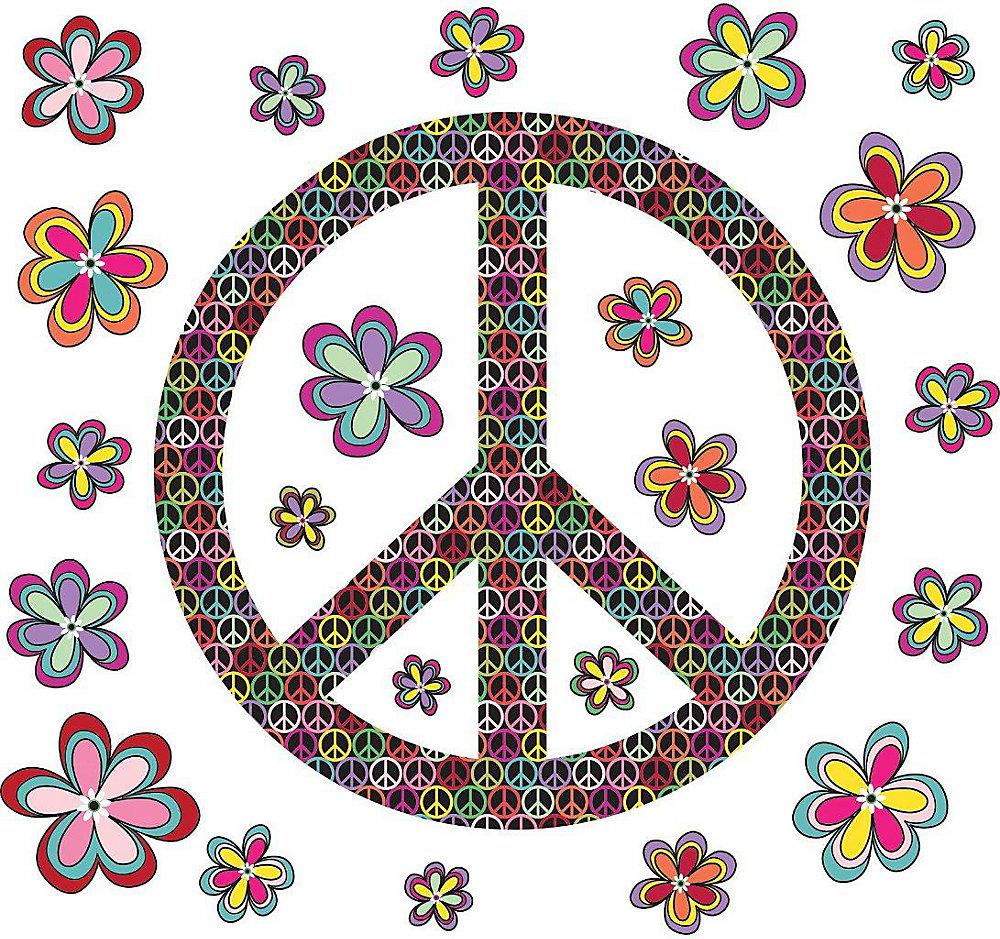 Peace Wall Applique
