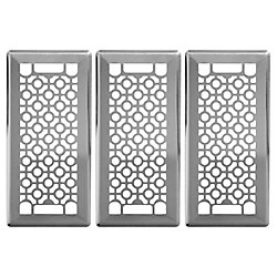 Hampton Bay Trio de grilles de ventilation 4x10 Cosmos