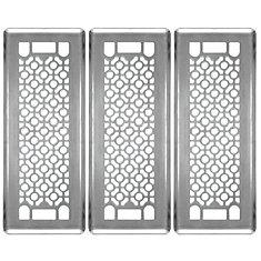 Trio de grilles de ventilation 3x10 Cosmos