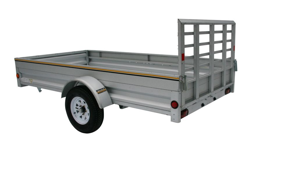 5' x 10' Galvanized Steel Utility Trailer