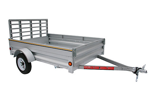 Home Depot Drop Gate Trailers