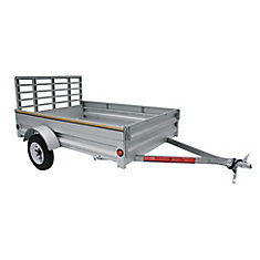 5' x 7' Galvanized Steel Utility Trailer