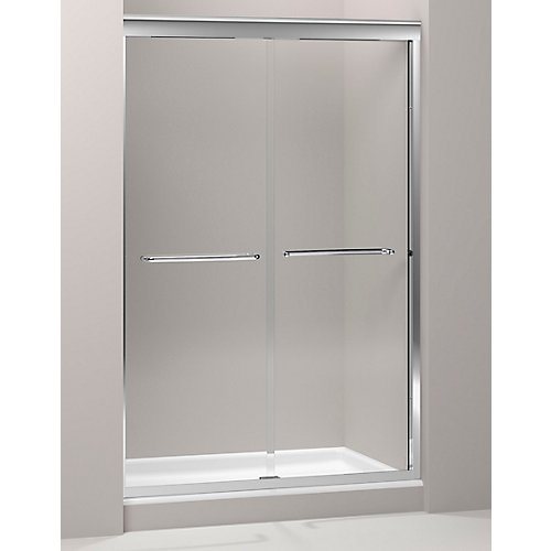 Fluence(R) 3/8 Inch Thick Glass Bypass Shower Door