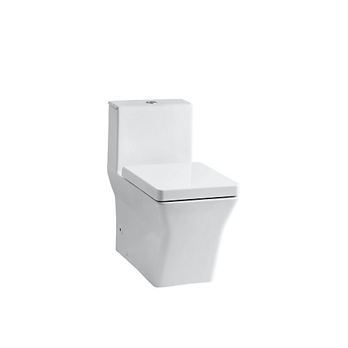Reve 1-piece 0.8/1.6 GPF Dual Flush Elongated Bowl Toilet