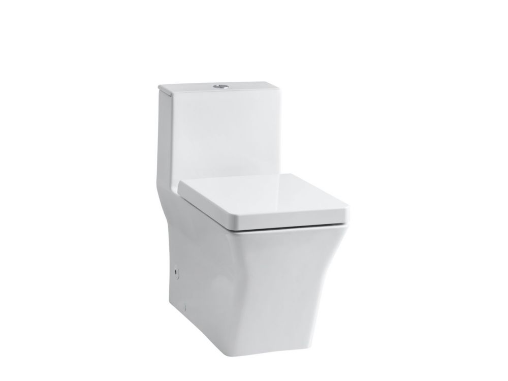 KOHLER Reve 1-piece 0.8/1.6 GPF Dual Flush Elongated Bowl Toilet