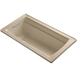 KOHLER Archer 5 Feet Bathtub with Comfort Depth Design