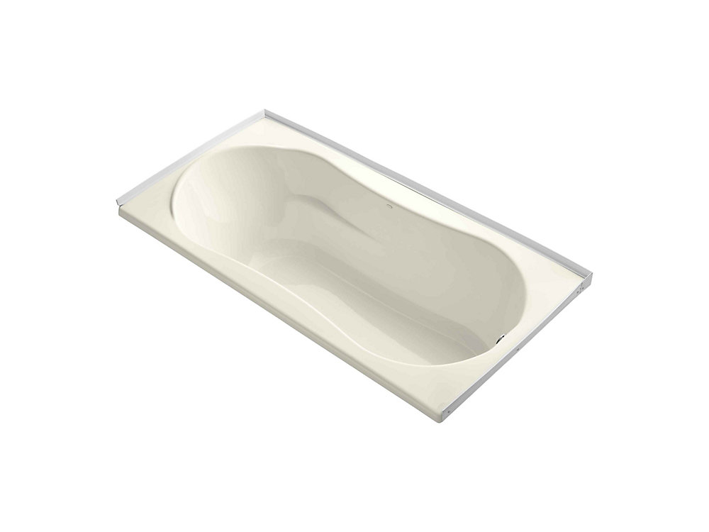 """7236 72"""" x 36"""" alcove bath with integral flange and right-hand drain"""