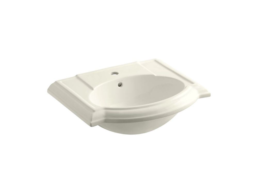 Kohler Devonshire Bathroom Sink Basin With Single Hole Faucet Installation The Home Depot Canada