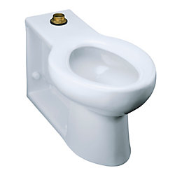 KOHLER Anglesey Elongated Toilet Bowl Only with Integral Seat and Top Spud