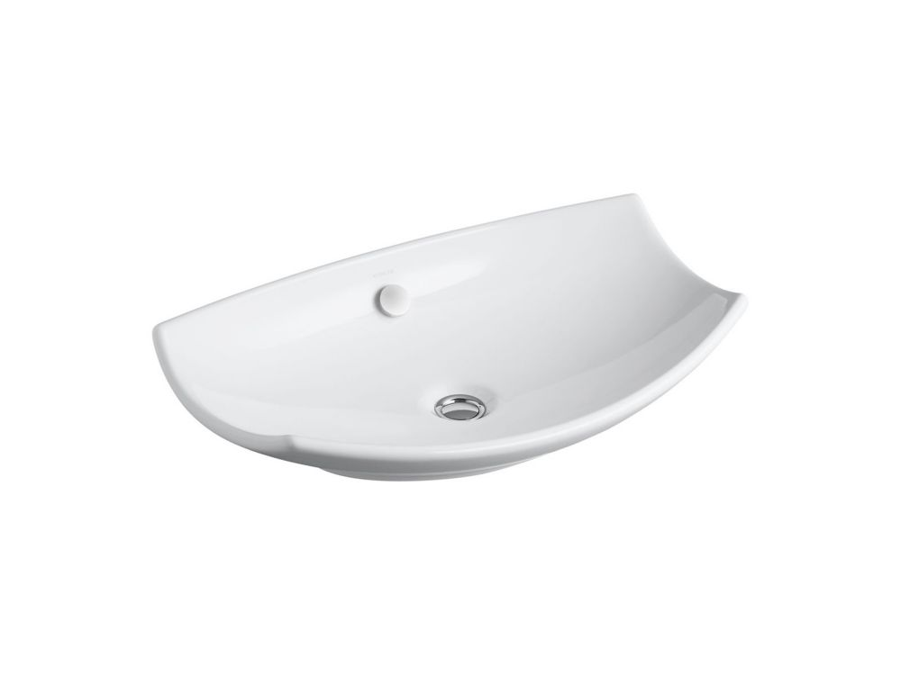 KOHLER Leaf(TM) vessel bathroom sink