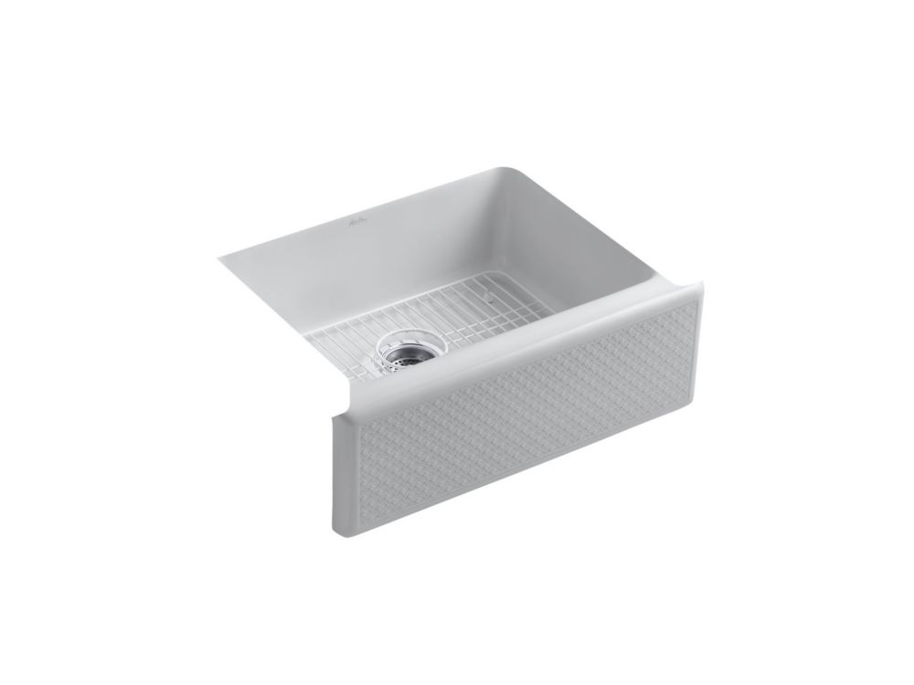 KOHLER Evenweave(TM) Design On Alcott(TM) Undercounter Sink