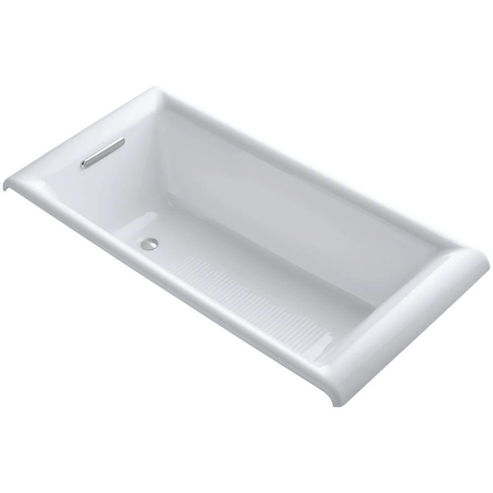 KOHLER Parity Cast Iron Undermount Non Whirlpool Bathtub
