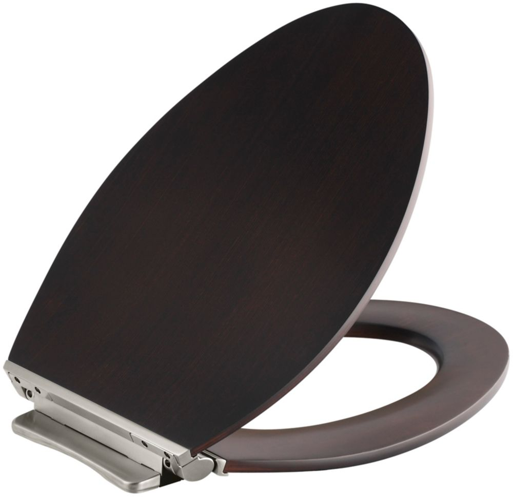 Kohler Kathryn Toilet Seat With French Gold Hinges The