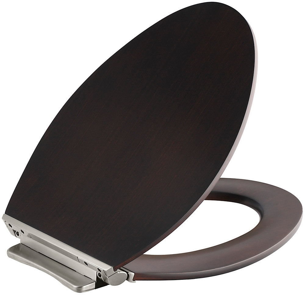 Magnificent Avantis Quiet Close Elongated Toilet Seat In Wood With Quick Release Hinges Ibusinesslaw Wood Chair Design Ideas Ibusinesslaworg