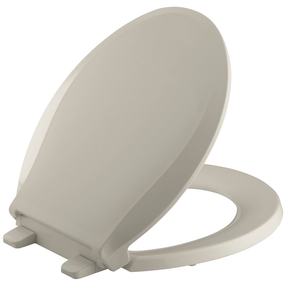 Cachet(R) Round-Front Toilet Seat With Q3 Advantage K-4639-G9 Canada Discount