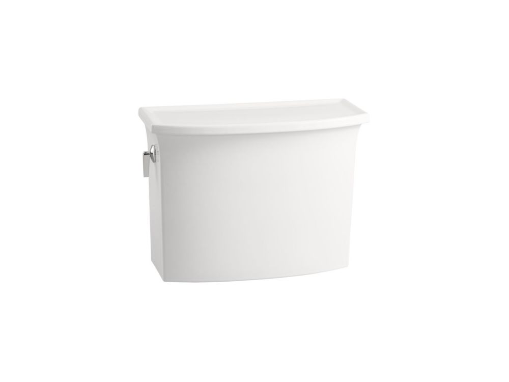 KOHLER Archer 1.28 GPF Single Flush Toilet Tank Only in White