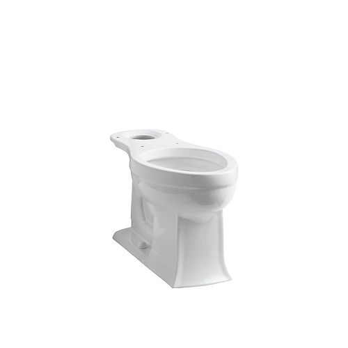 KOHLER Archer Comfort Height Elongated Toilet Bowl Only in White