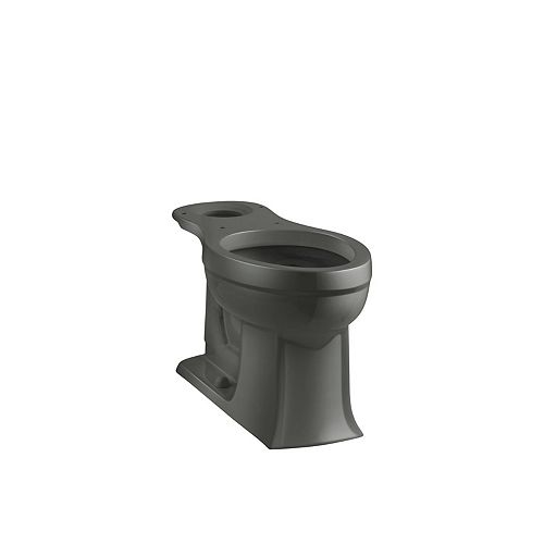 KOHLER Archer Elongated Bowl Toilet Bowl Only in Grey