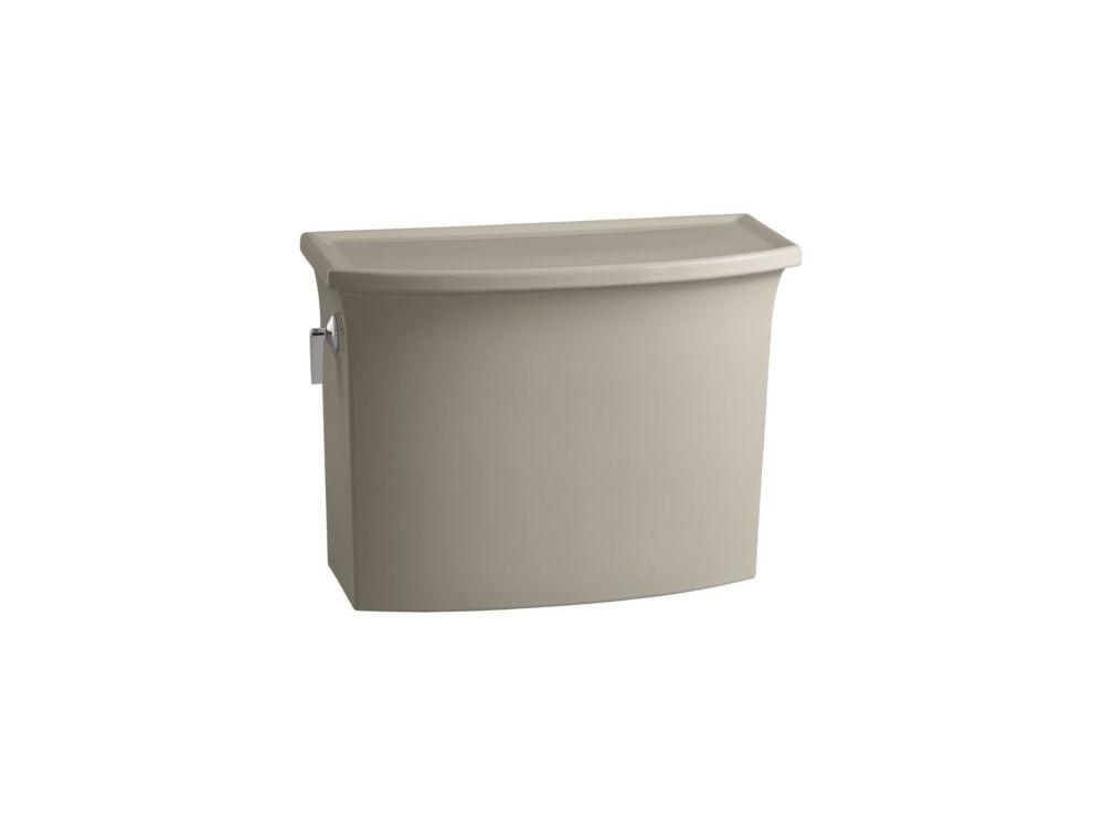 KOHLER Archer 4.8 LPF Single-Flush Toilet Tank Only in Sandbar