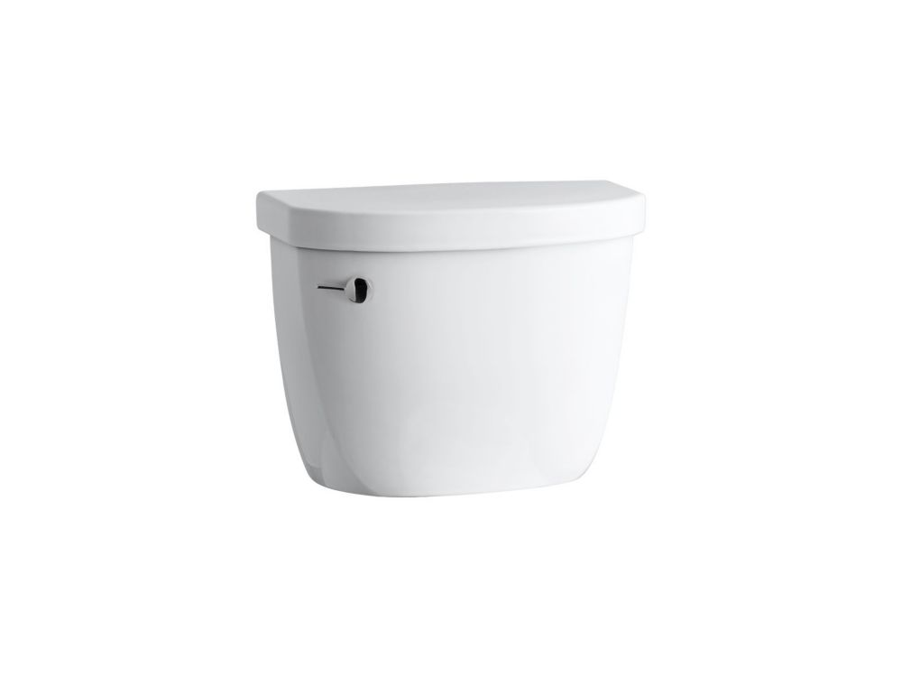 KOHLER Cimarron 1.28 GPF Single Flush Toilet Tank Only in White