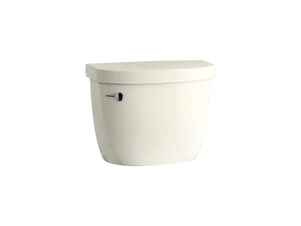 KOHLER Cimarron 1.28 GPF Single Flush Toilet Tank Only in Biscuit