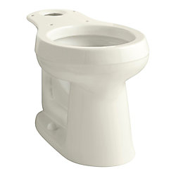 KOHLER Cimarron Comfort Height Round-Front Toilet Bowl Only