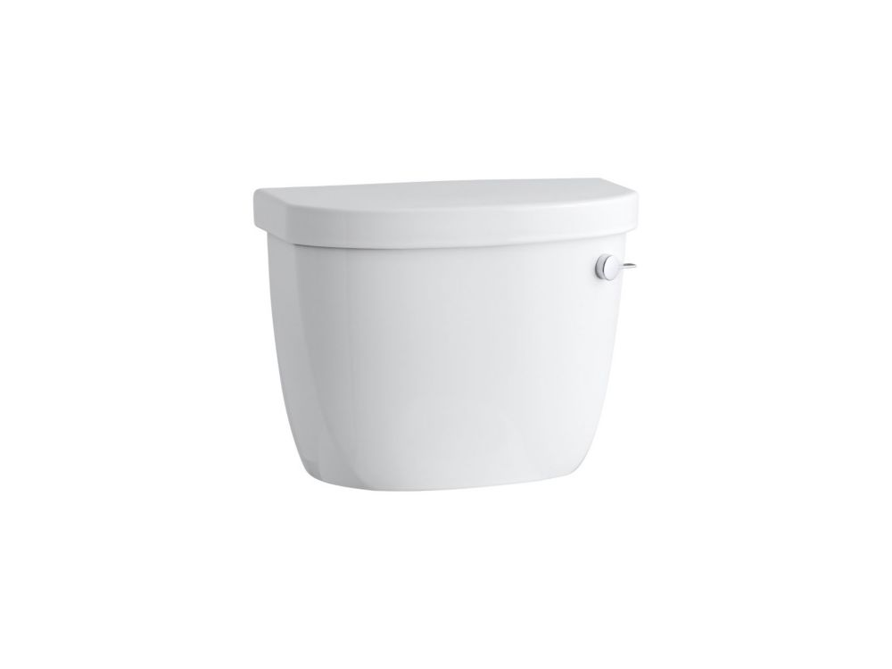 KOHLER Cimarron 1.28 GPF Single Flush Toilet Tank Only with Right-Hand Trip Lever
