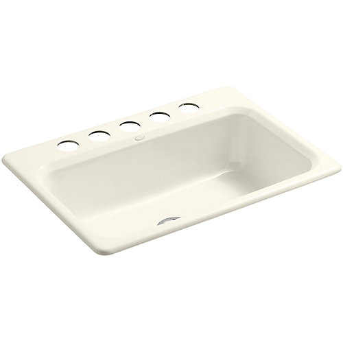 Bakersfield(TM) Undercounter Sink With Installation Kit