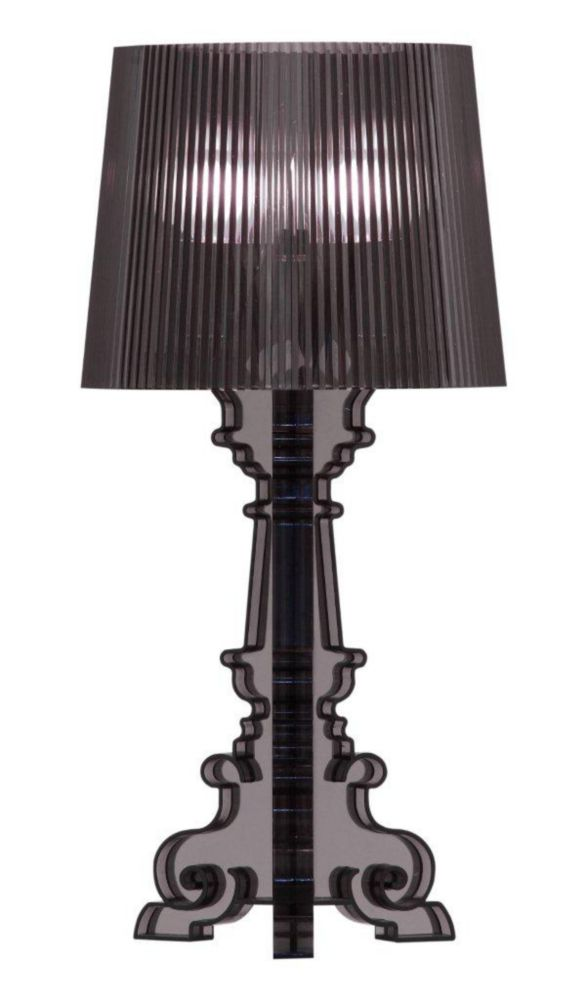 Lampe de Table Salon S Noir Translucide