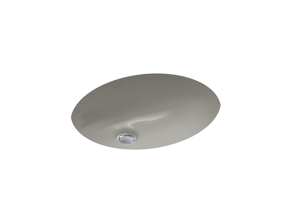 KOHLER Caxton(R) 15 inch x 12 inch under-mount bathroom ...