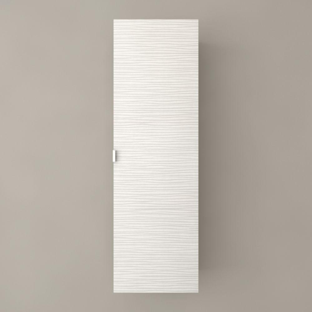 Armoire à linge Contour White de Textures Collection