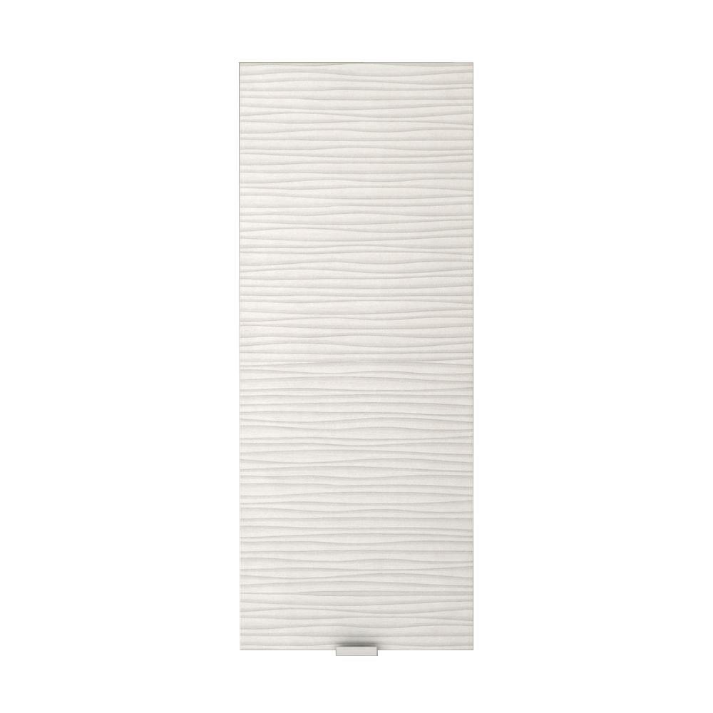 Textures Collection Contour White Medicine Cabinet