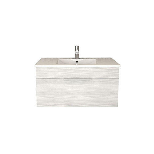 cutler kitchen & bath textures collection 36-inch w wall hung