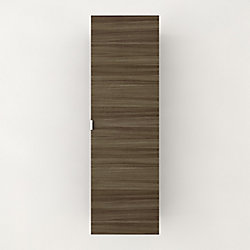 Textures Collection 15-inch W x 48 inn. H x 12-1/4-inch D Bathroom Storage Wall Cabinet in Driftwood