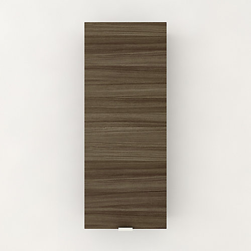 Textures Collection Medicine Cabinet in Driftwood