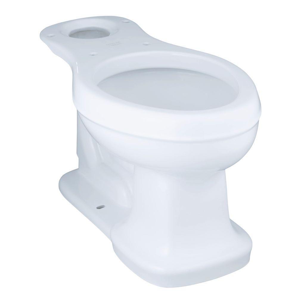 KOHLER Bancroft Comfort Height Elongated Toilet Bowl Only