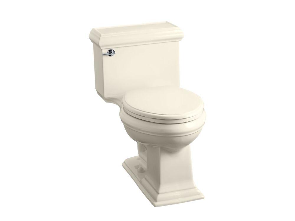 KOHLER Memoirs 4.8 LPF 1-Piece Single-Flush Elongated Bowl Toilet in Almond