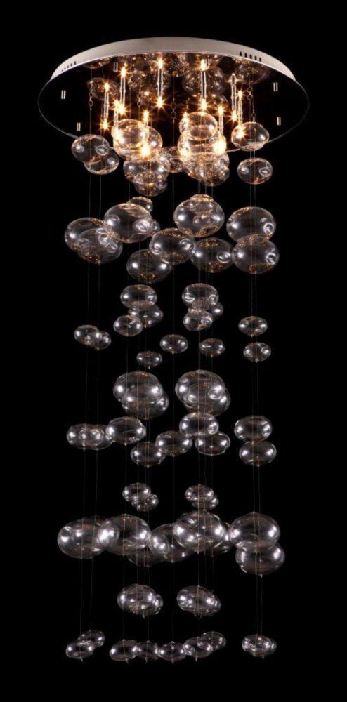 Plafonier Inertia Transparent