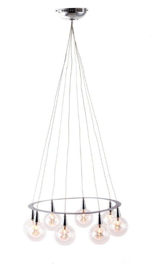 Lampe Suspendue Radial Chrome