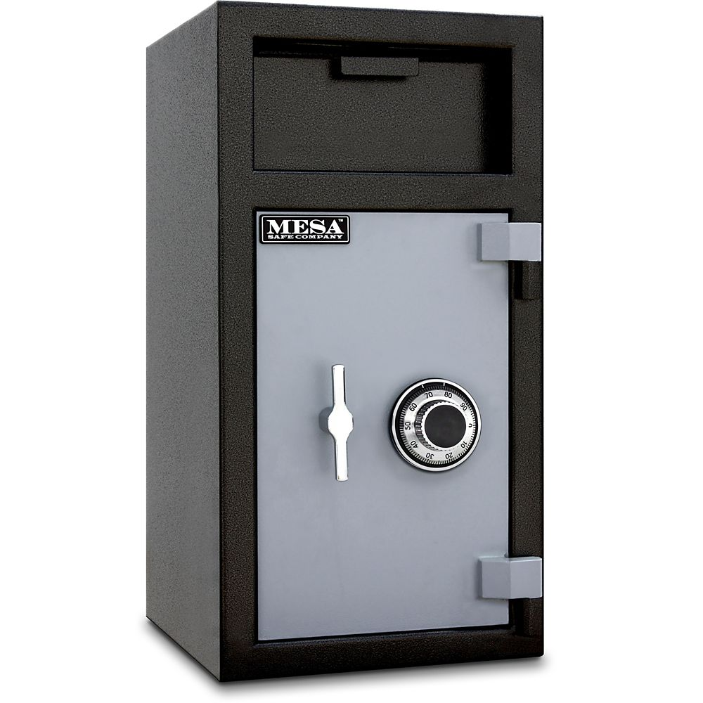 All Steel MFL2714C-ILK 1.3 cu. ft. Capacity Depository Safe with an Interior Locker