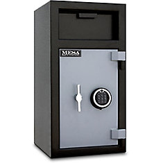 All Steel MFL2714E-ILK 1.3 cu. ft. Capacity Depository Safe with Interior Locker