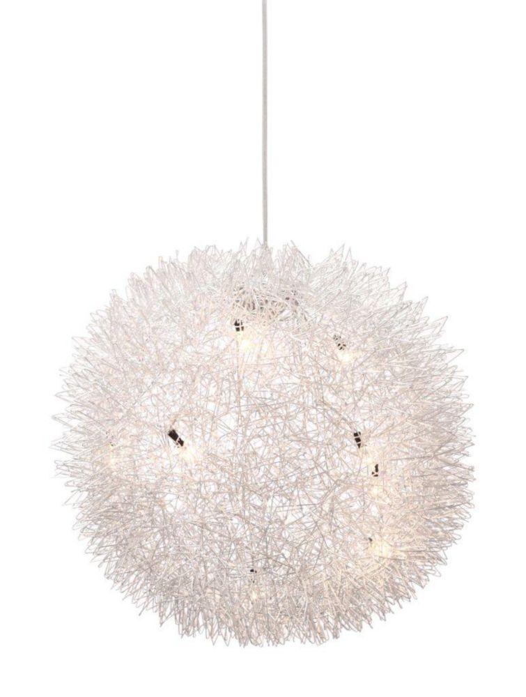 Lampe Suspendue Warp Aluminium