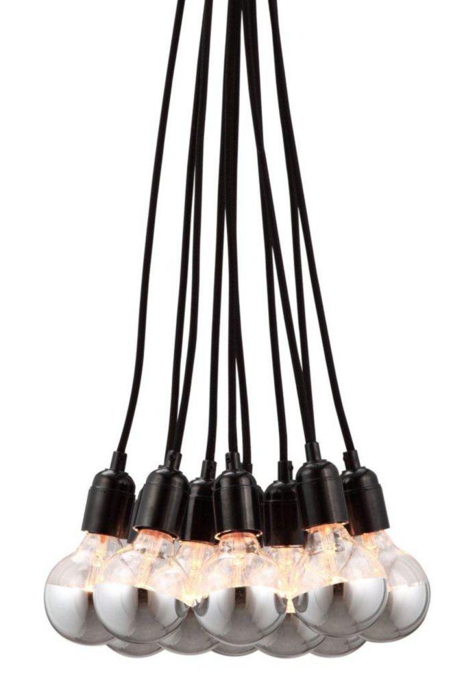 Lampe Suspendue Bosonic Noir