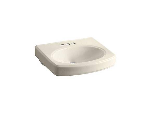Kohler Pinoir Bathroom Sink Basin With 4 Inch Centres The Home Depot Canada