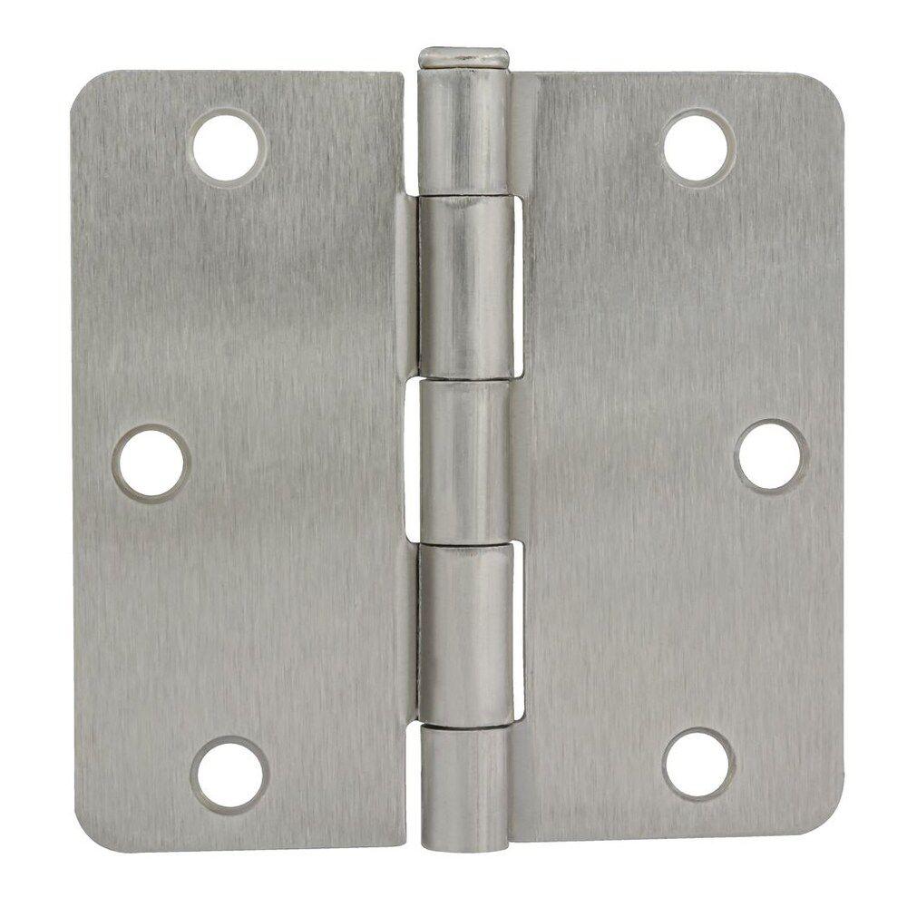 3 1/2-inch Satin Nickel Door Hinge for 1 3/4-inch Thick Door