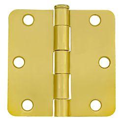 Everbilt 3-inch Satin Brass Door Hinge for 1 3/4-inch Thick Door