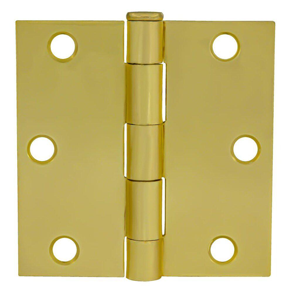 3-inch Satin Brass Door Hinge