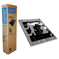 Columbia Skylights 28-inch Grey Curb Mount Flashing Kit - ENERGY STAR®