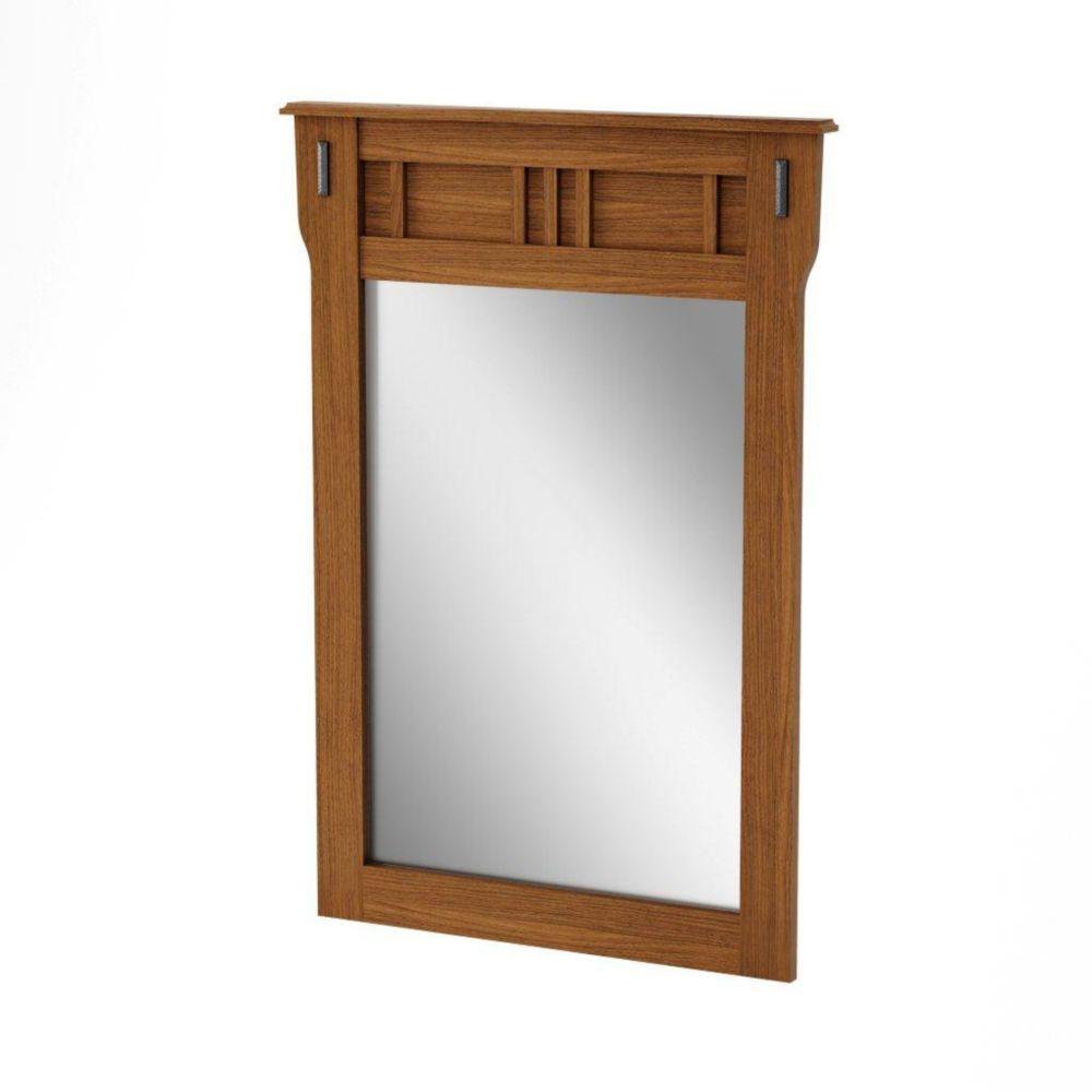 Tryon Mirror Roasted Oak