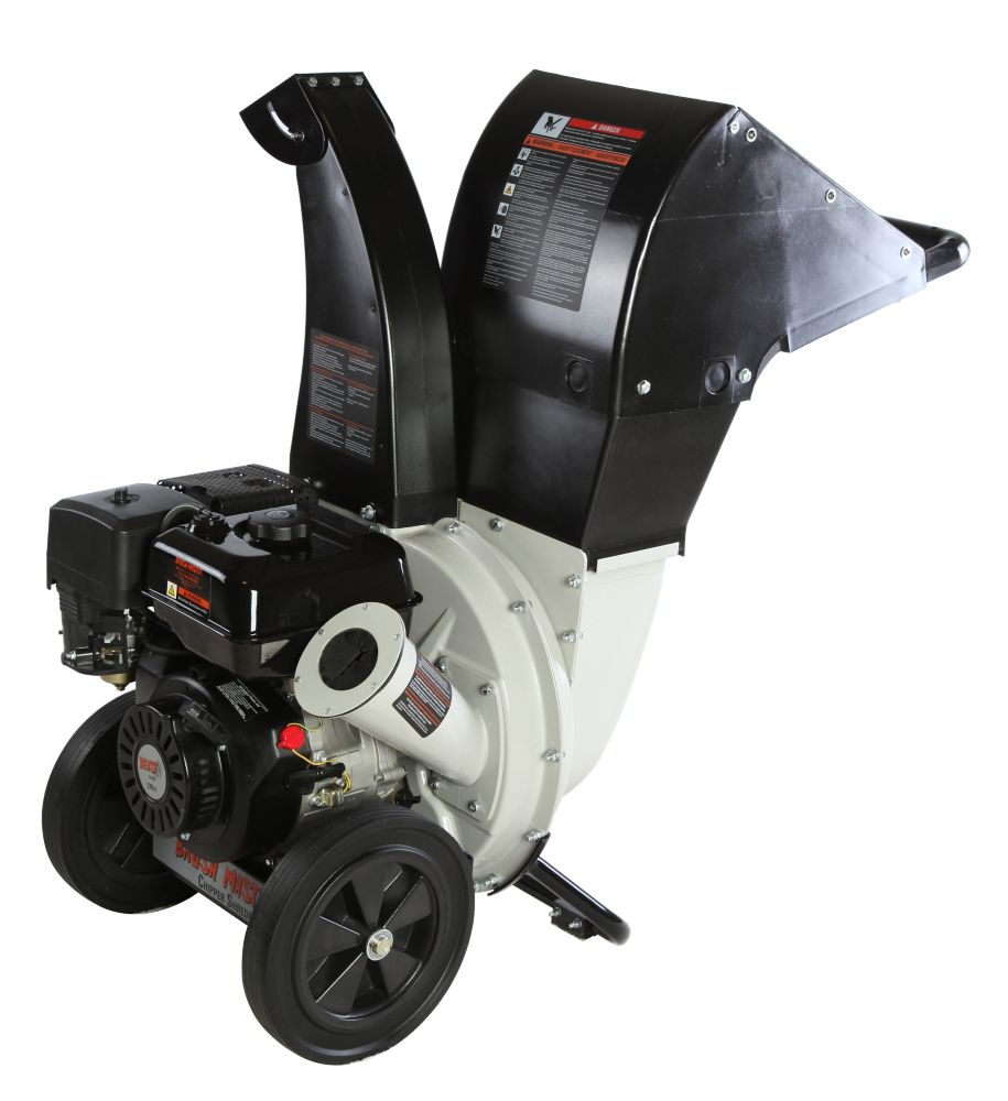 208cc 6.5-HP Chipper Shredder with 2.25-inch Diameter Feeder